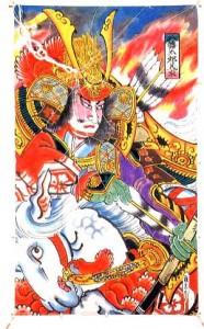 Фуцунуси-но Микото, божество, покровитель храма Катори